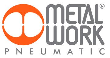 Logotipo da Metal Work, empresa de pneumática industrial.